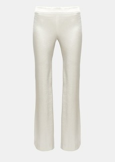 Theory Sateen Clean Flare Pant