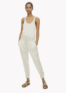 Theory Satin Tank Jumpsuit