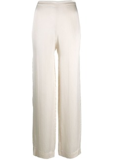 Theory satin trousers