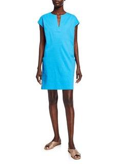 Theory Saturnina Eco Crunch Wash Shift Dress