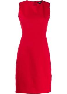 Theory Scuba fitted sleeveless dress