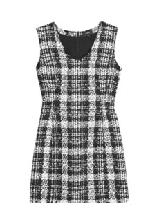 Theory Sculpted Tweed Dress