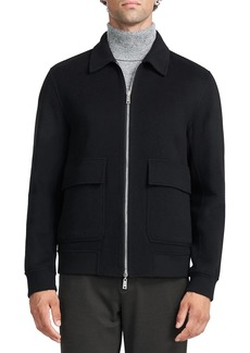 Theory Sean Reversible Double Face Bomber Jacket