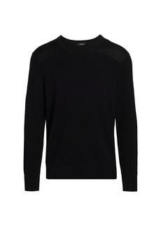 Theory Sergeant Crew Sweater