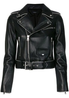 Theory short biker jacket