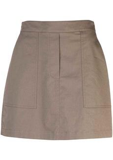 Theory short cargo skirt