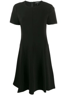 Theory short flared dress
