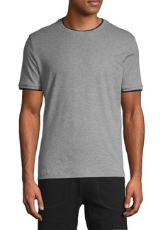 Theory Short-Sleeve Cotton-Blend Tee
