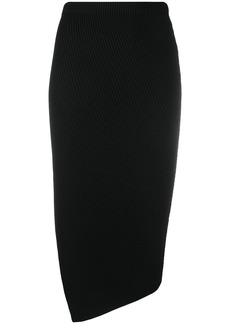 Theory side-slit pencil skirt