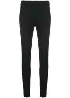 Theory side-zip skinny trousers