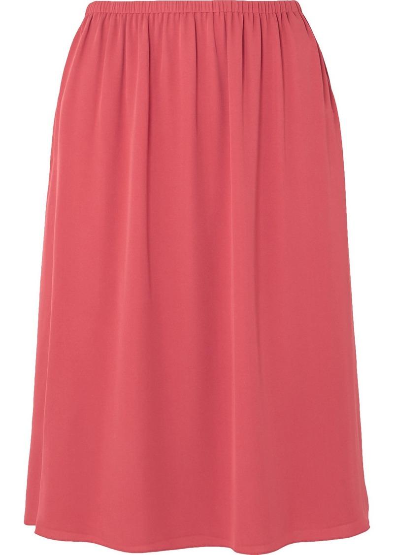 Theory Silk-crepe Skirt