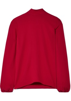 Theory Silk-crepe Top