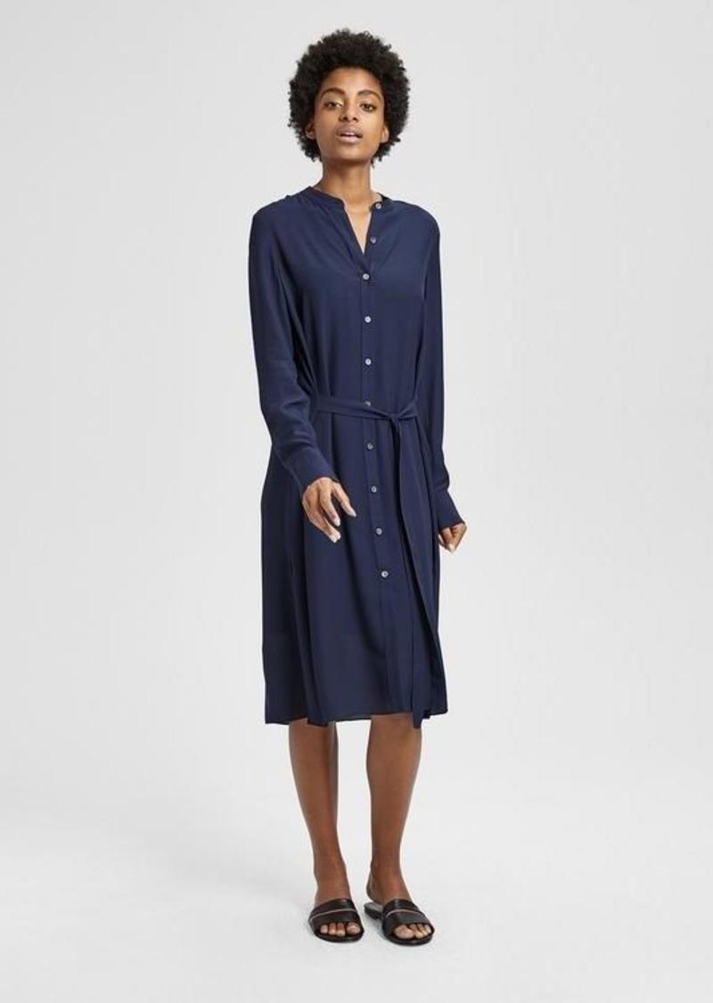 f58fb040dd8 Theory Silk Effortless Tunic Dress   Dresses