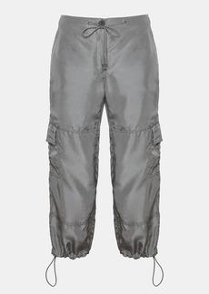 Theory Silk Habotai Utility Cargo Pant