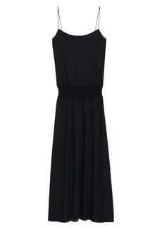 Theory Silk Midi Dress
