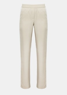 Theory Silk Pull-On Track Pant