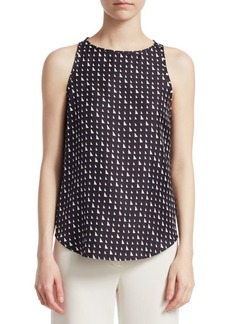 Theory Silk Racer Back Top