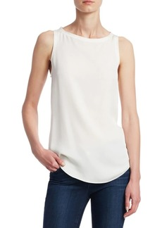 Theory Silk Racerback Top