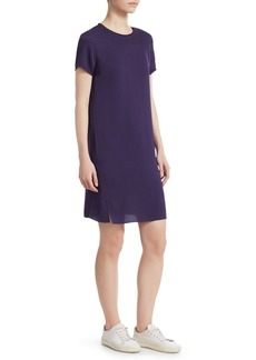 Theory Silk T-Shirt Dress