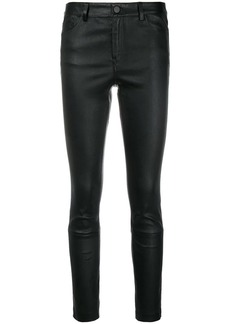 Theory skinny biker trousers