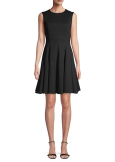 Theory Sleeveless Peplum Dress
