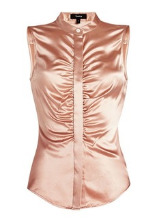 Theory Sleeveless Silk blouse