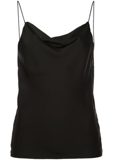 Theory sleeveless slip cowl top
