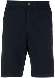 Theory slim-cut chino shorts