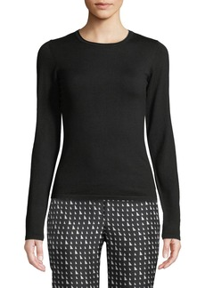 Theory Slim-Fit Wool-Blend Pullover Sweater