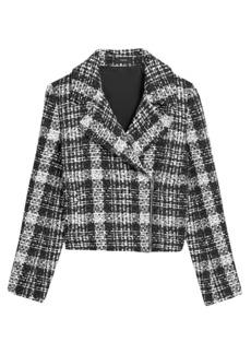Theory Slim Tweed Moto Jacket