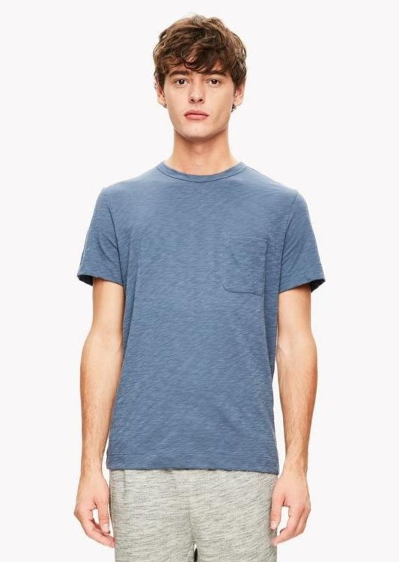 Theory Slub Cotton Pocket Tee