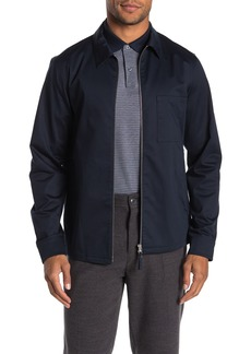 Theory Soft Sateen Rye Over Shirt Jacket