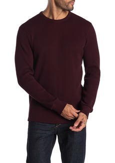 Theory Solid Waffle Knit Pullover