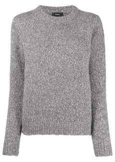 Theory speckled knit jumper