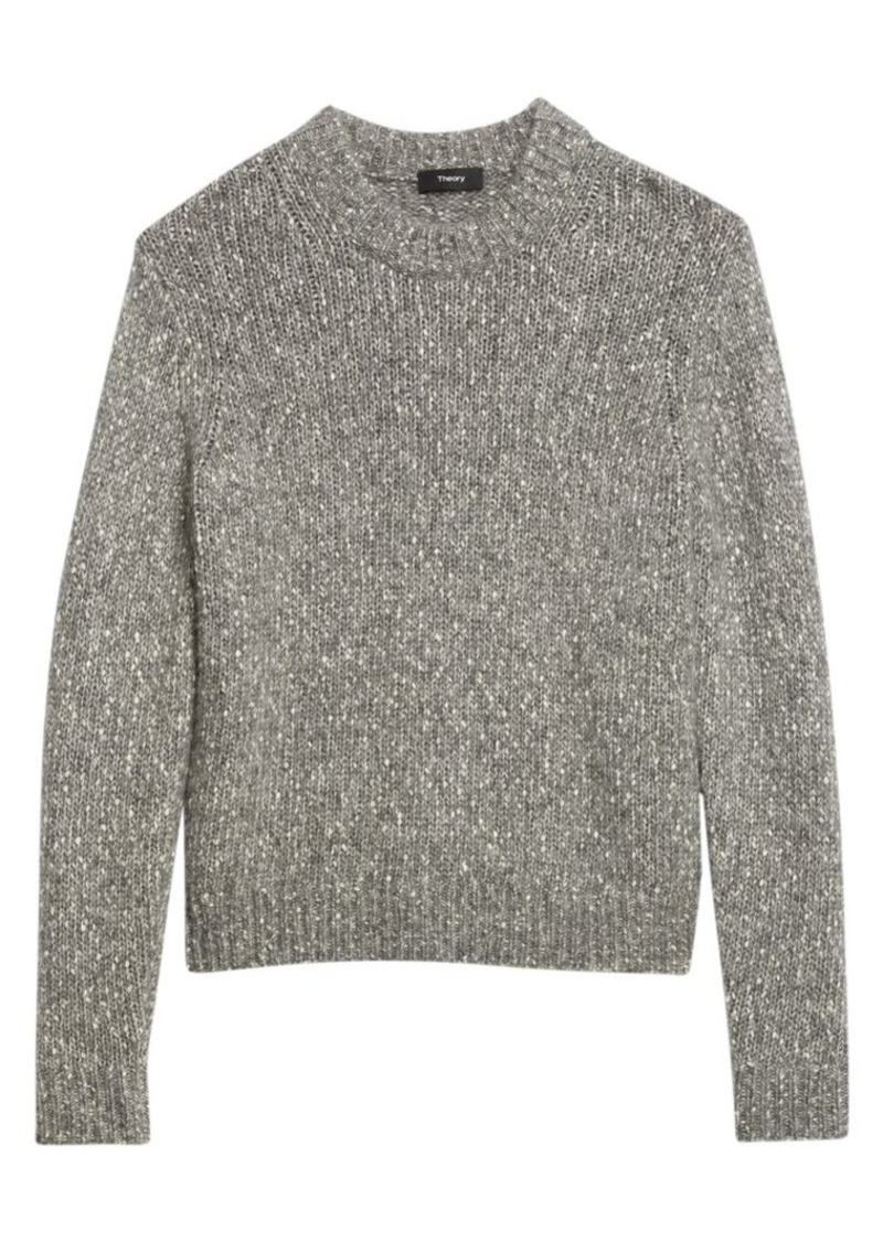 Theory Speckled Knit Sweater