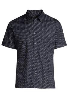 Theory Standard-Fit Irving Alder Print Shirt