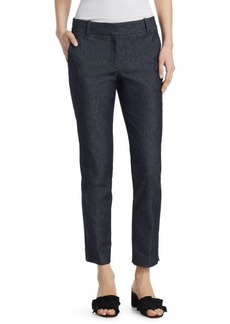 Theory Straight Denim Trousers