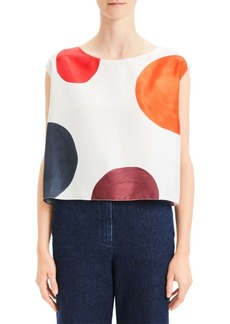 Theory Straight Easy Top