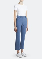 Theory Straight Low Rise Cropped Trouser