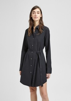 Theory Stretch Cotton Clean Shirt Dress