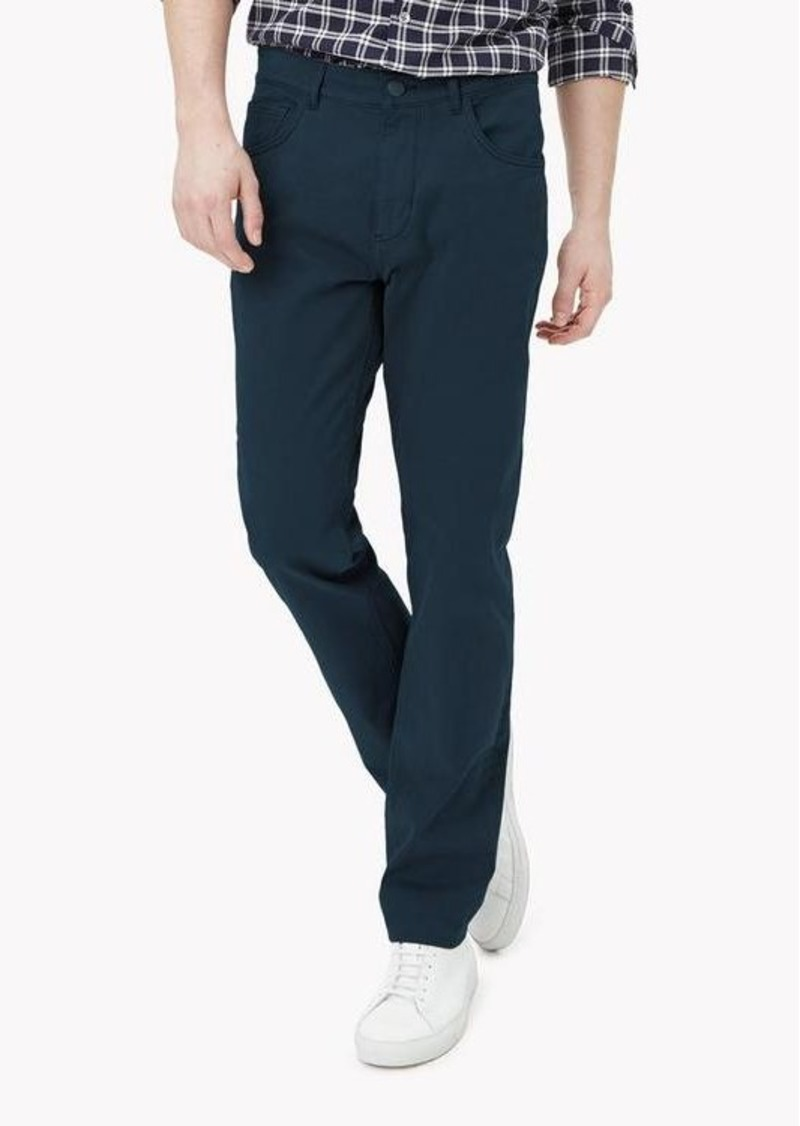 Theory Stretch Cotton Slim-Straight Pant
