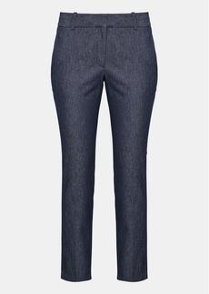 Theory Stretch Denim Straight Trouser