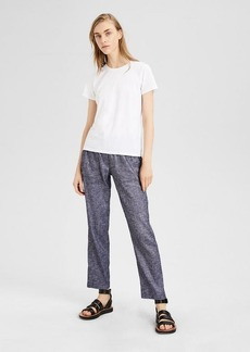 Theory Stretch Linen Utility Pant