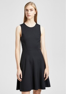 Theory Stretch Nylon Mod Panel Dress