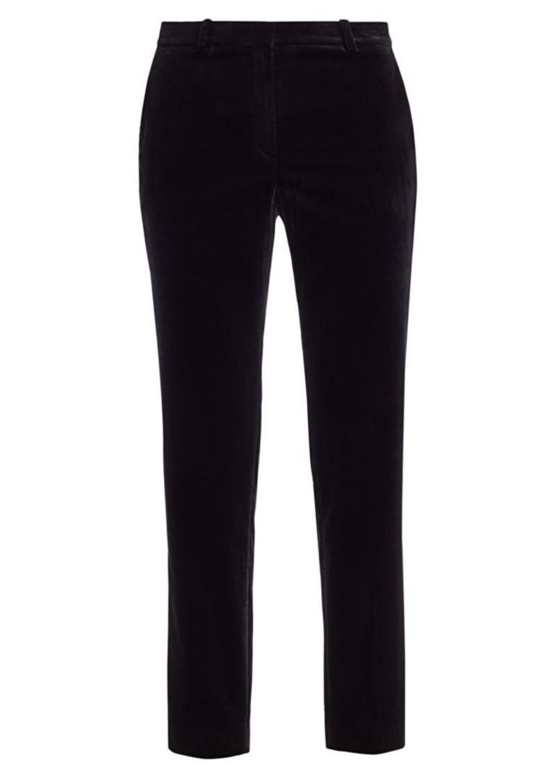 Theory Stretch Velvet Tailored Trouser