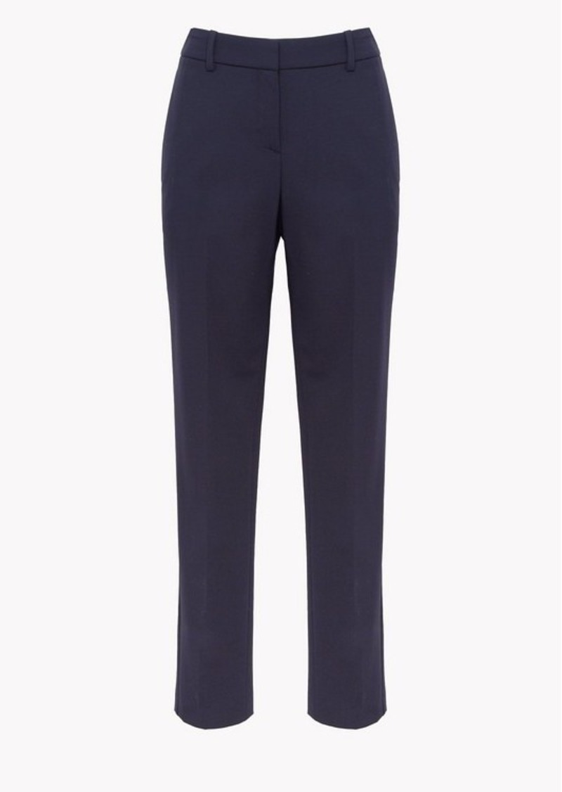 Theory Stretch Wool Classic Crop Pant