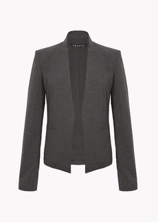 Theory Stretch Wool Open Jacket