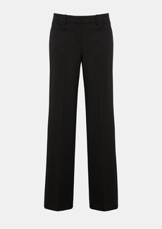 Theory Stretch Wool Relaxed Straight Pant
