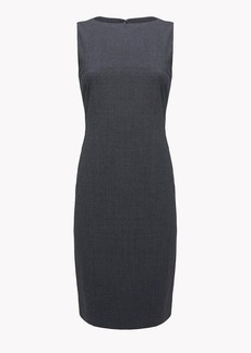 Theory Stretch Wool Shift Dress