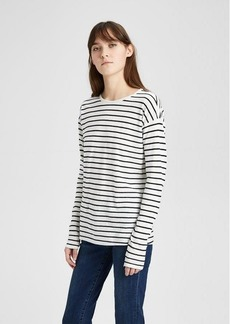 Theory Stripe Relaxed Crewneck